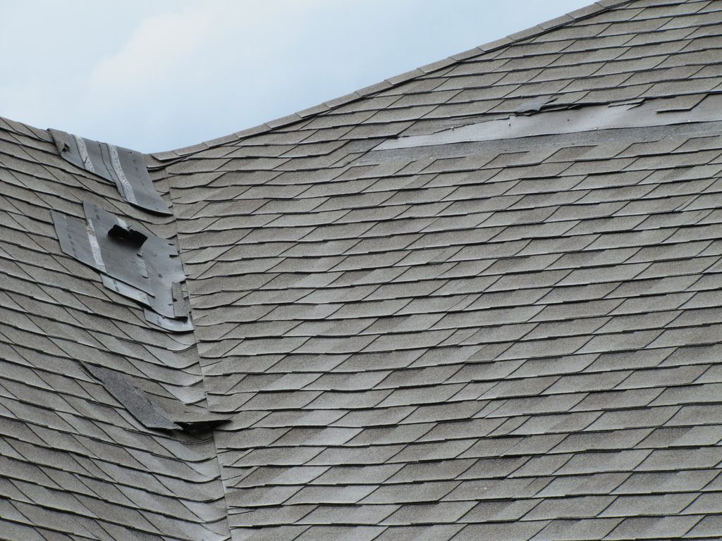 storm damage roof repairs concord nc